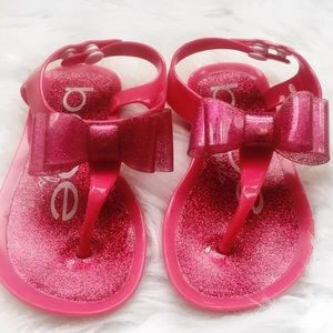Jelly Flats Sandals Toddler Bebe Snaps